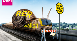 Transports : STOP au hold-up sur le RER wallon !